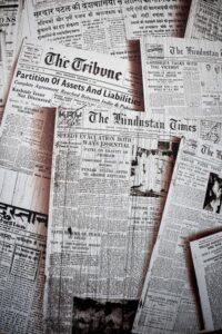 Gamla tidningar